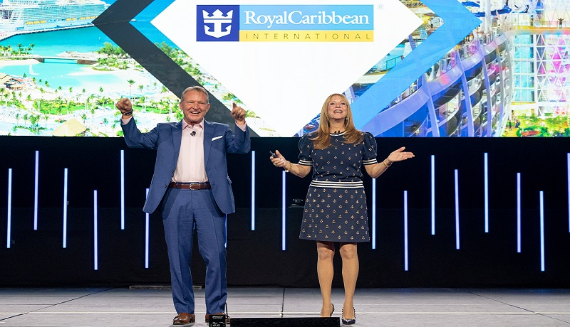 TRAVEL LEADERS NETWORK'S EDGE ATTENDEES GIFTED FREE CRUISE FROM ROYAL CARIBBEAN